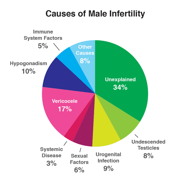 Cause of Male infertility